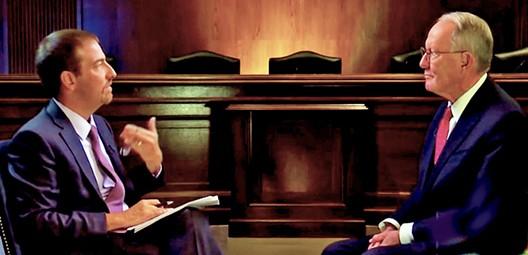 MSNBC's Chuck Todd (l) with Senator Alexander