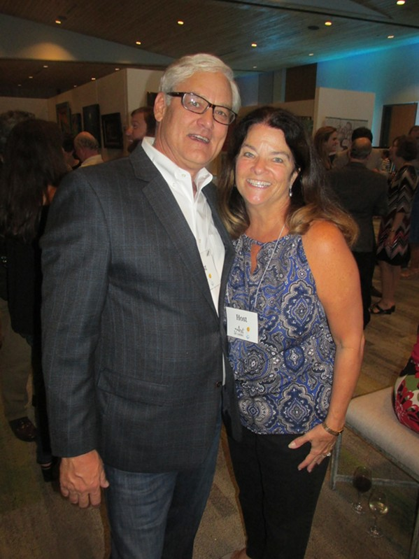 Jim and Missy Rainer at Art of Caring. - MICHAEL DONAHUE