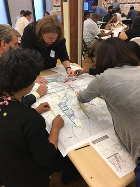 Stakeholders mapping out their ideal transit network for Memphis - MEMPHIS 3.0 - FACEBOOK