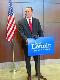 Trustee Lanier, announcing for Shelby County Mayor on Thursday - JB
