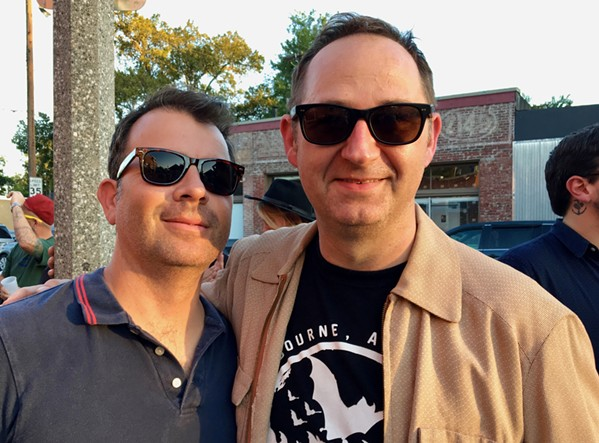 Goner Records' Zach Ives and Greg Cartwright