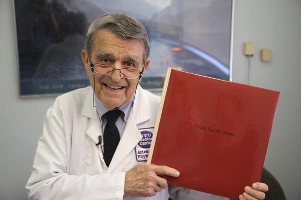 Dr. John E. Sarno in All The Rage.