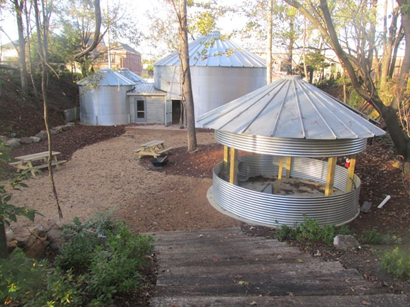 Carolina Watershed, a new outdoor/indoor restaurant, is slated to open at 141 East Carolina in December. - MICHAEL DONAHUE