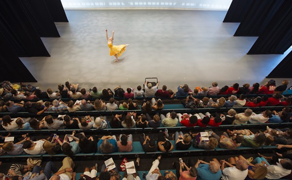 """Ballet Memphis' Fly Studio is an industrial strength practice room that can double as a performance space. The company's """"Turnout"""" series is premiering there this weekend. - LOUIS TUCKER/BALLET MEMPHIS"""
