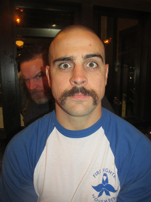 Mustaches were the thing at Mustache Bash. - MICHAEL DONAHUE
