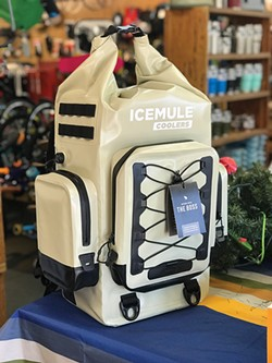 It's heavy-duty party time with the Icemule Boss at Outdoors, Inc.