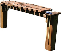 Handcrafted wooden xylophone made by Sean Murphy