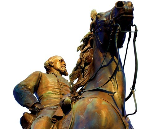 Nathan Bedford Forrest Statue in Health Sciences Park