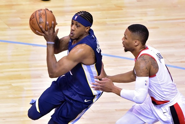 Mario Chalmers has struggled to run the team in Mike Conley's absence. - LARRY KUZNIEWSKI