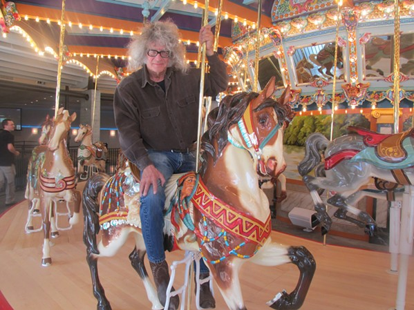 All aboard the Memphis Grand Carousel. - MICHAEL DONAHUE