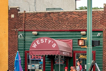 Consider a visit to Westy's