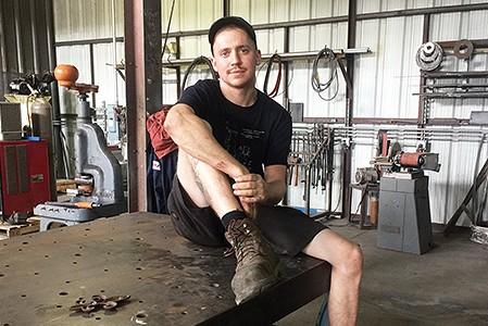 Metal Sculptor Lewis Body Sets up Shop in Memphis