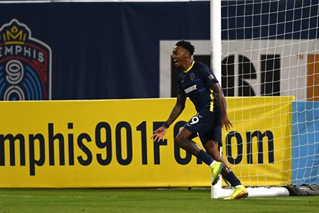 Keanu Marsh-Brown Strikes to Give 901 FC a First Victory of the Season
