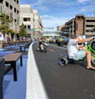 """Petitioners Want """"Great Streets"""" Pilot Project to Remain on Peabody"""