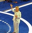 Here's Hillary!