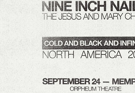 Nine Inch Nails: Cold and Black and Infinite Tour