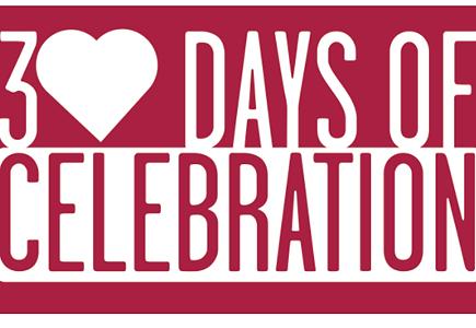 30 Days of Celebration