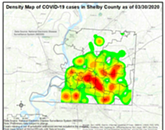 Midtown, East Memphis Coronavirus Hot Spots