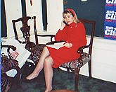 Throwback Thursday — Hillary Clinton at the Hotel Peabody, 1992