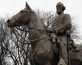Nathan Bedford Forrest Statue and Remains to Stay in the Health Sciences Park