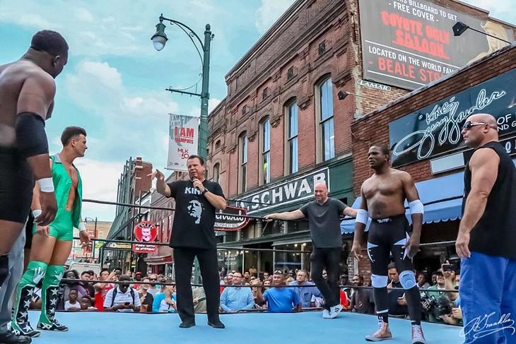 Dana White's Pro Wrestling Debut