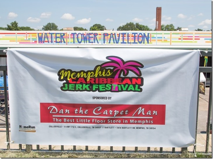 At the Memphis Caribbean Jerk Festival