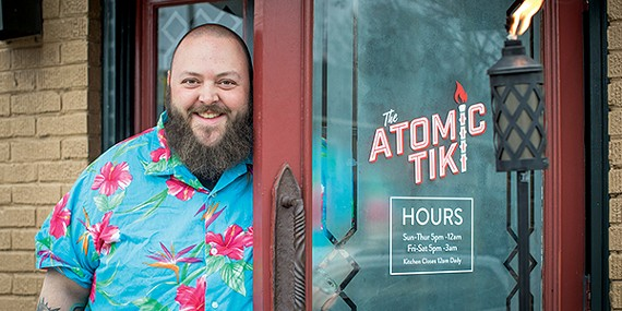 "Brian ""Skinny"" McCabe at the Atomic Tiki"
