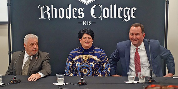 Roland, Touliatos, and Lenoir gird for debate