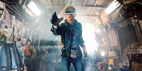 Spielberg's adaptation of Ernest Cline's Ready Player One is steeped in '80s film and game lore.