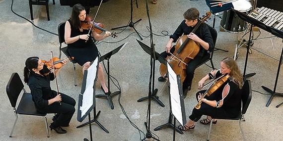 Blueshift Ensemble at Crosstown