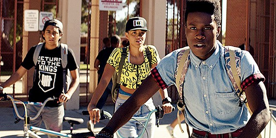 Tony Revolori, Kiersey Clemons, and Shameik Moore star in Dope