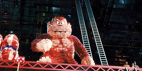 Adam Sandler's performance isn't the only awful thing about Pixels.