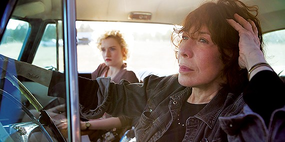 Lily Tomlin and Julia Garner in Grandma