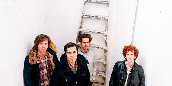 Parquet Courts return to Memphis.