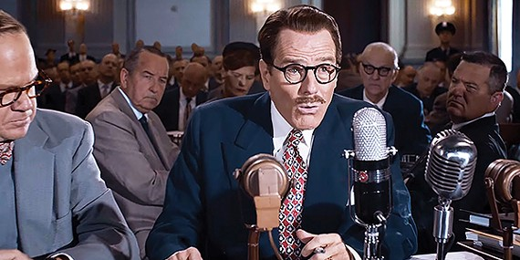 Bryan Cranston goes from Walter White to Red Scare writer in Trumbo.