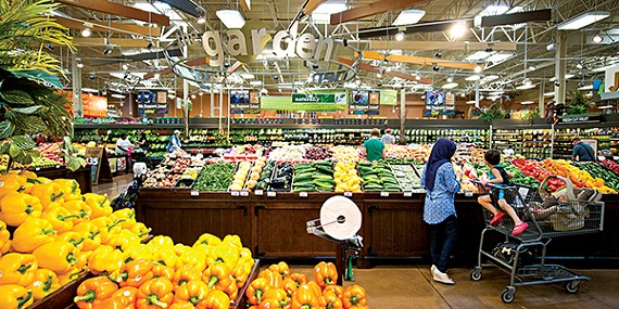Better grocery stores are sprouting up around town.