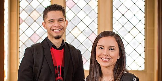 Frankie Paz and Jocelyn Vazquez