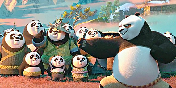 Image result for kung fu panda 3 film