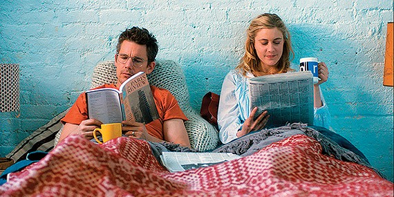 Ethan Hawke and Greta Gerwig star in Rebecca Miller's finely crafted rom-com Maggie's Plan.