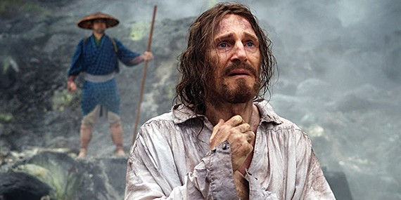 Liam Neeson endures suffering as Cristóvão Ferreria in Martin Scorsese's Silence.