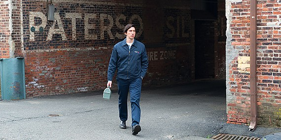Adam Driver is a quiet bus driver and poet in Paterson, Jim Jarmusch's spiritual sequel to Mystery Train.