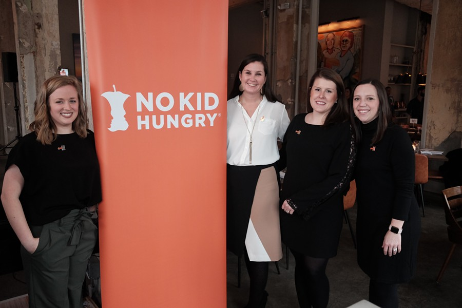 No Kid Hungry dinner was held at Catherine & Mary's. - MICHAEL DONAHUE