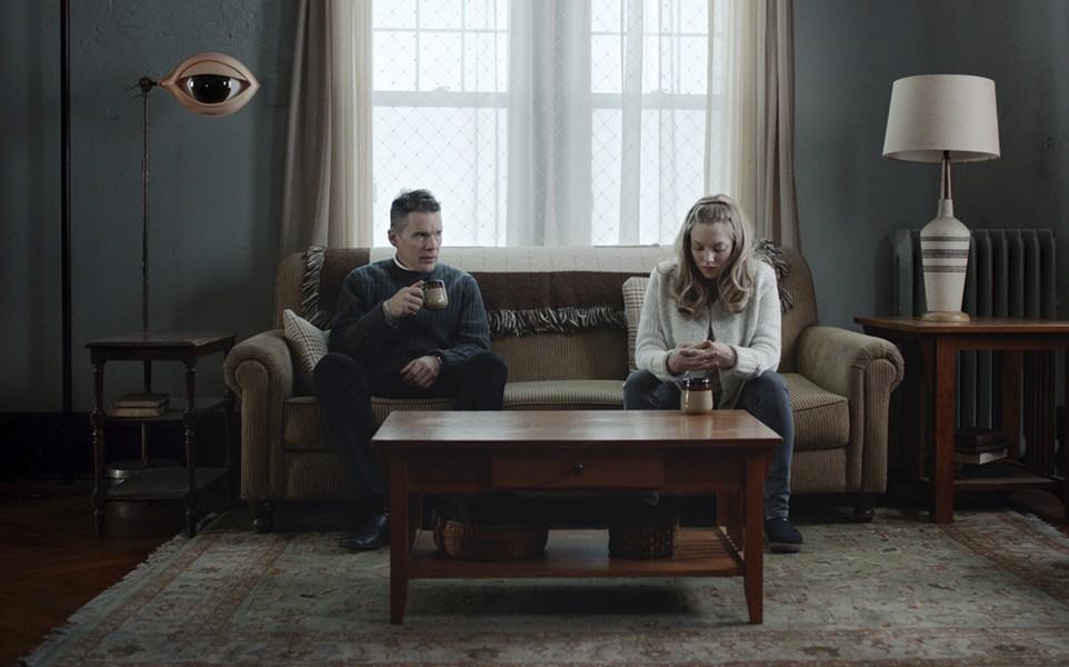 Ethan Hawk and Amanda Seyfriend