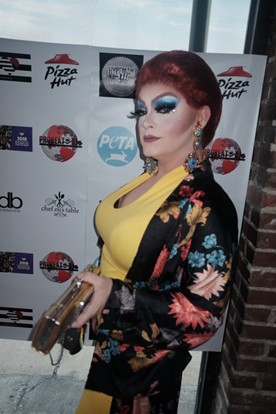 Iris LeFluer was among the guests at the LGBT  Legend Awards ceremony, held June 17th at The Haven. The annual event recognizes those who put so much hard work into the art form of female impersonation. - MICHAEL DONAHUE