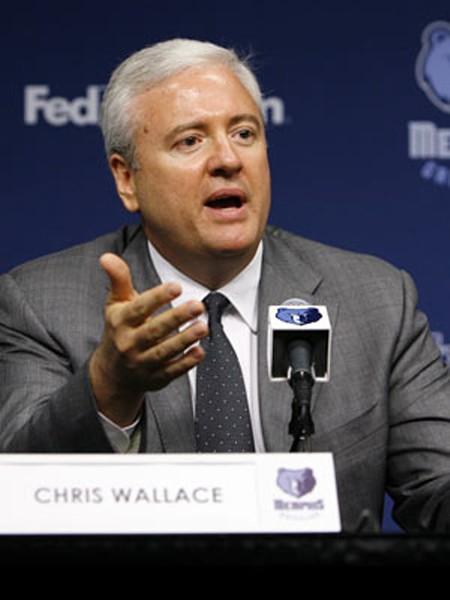 Grizzlies GM Chris Wallace.