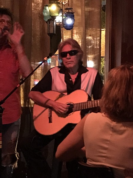 Jose Feliciano at Bar DKDC - BRUCE VANWYNGARDEN