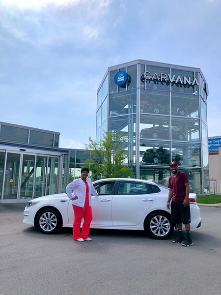 Carvana in Nashville. - CARVANA