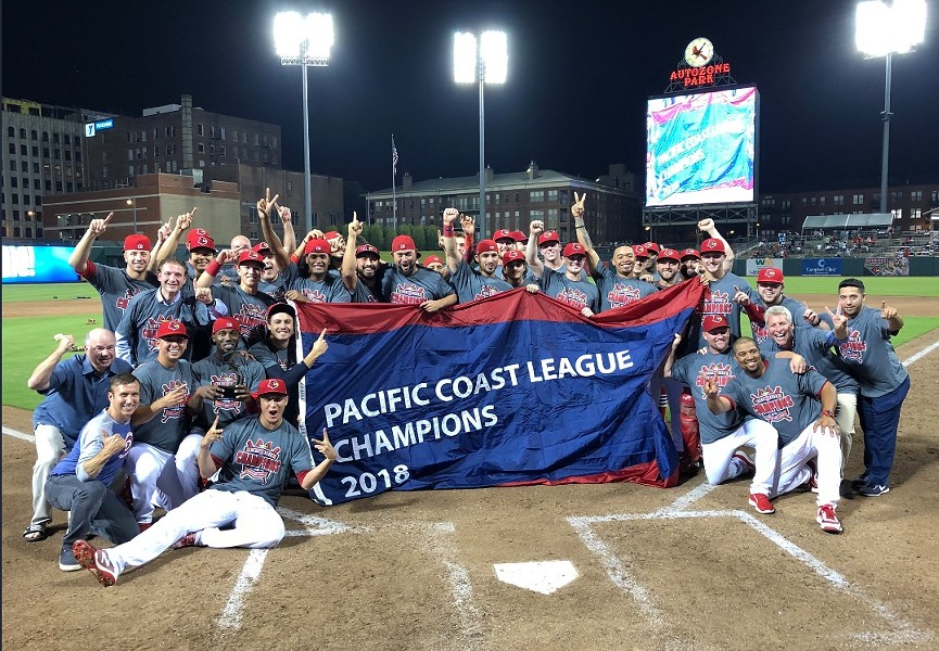 PCL champions. Again.