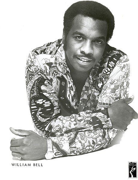 Image of Bell  in his early Stax years.