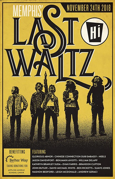 """We called it - The Last Waltz."""